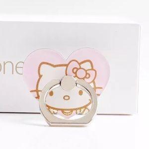 NWT Hello Kitty Phone Ring   Rotating Phone Grip